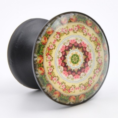 Pretty Patterned Drawer Knob