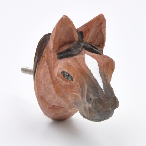 Animal Head Knobs