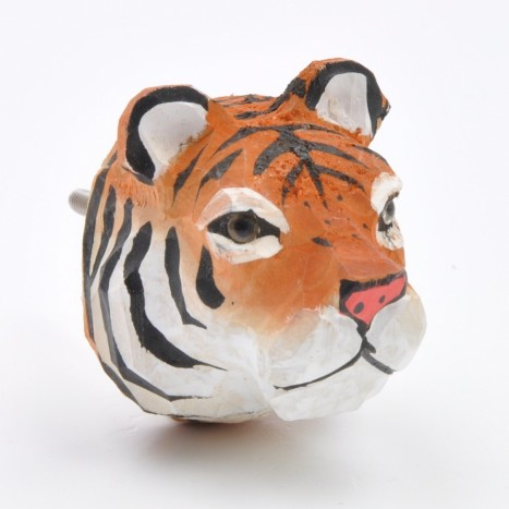 Safari Life Cupboard Knob - Tiger