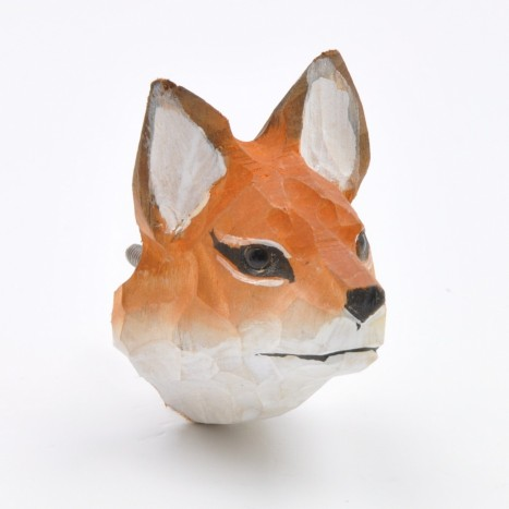 Fox Head Knob