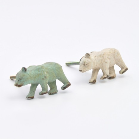 Cute Bear Cupboard Drawer Knob