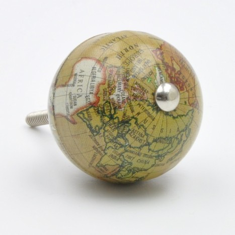 Old Green Atlas Knob