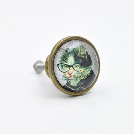 Cute Cat Knob
