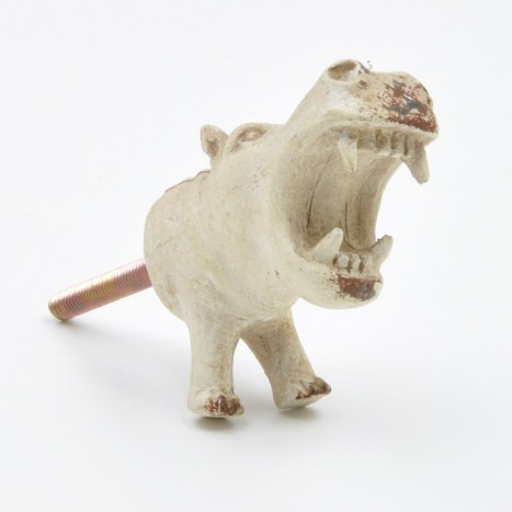 Large Hippo Drawer Knob
