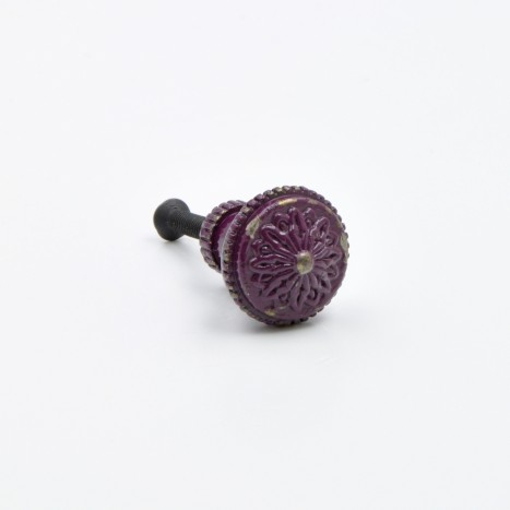 Small Dark Purple Vintage Knobs