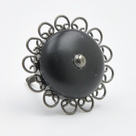 Decorative Black Knob