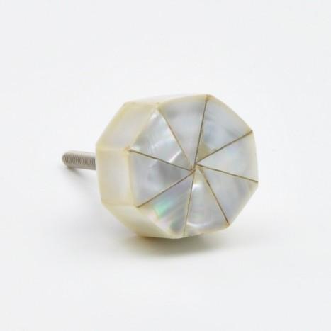 Pearl Octagon Knob