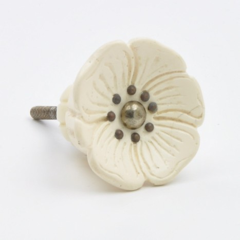Tudor Rose Cupboard Knob