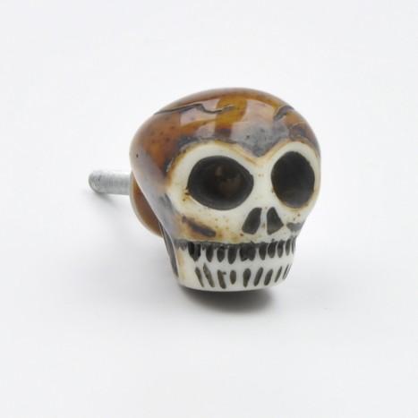 Skeleton Skull Drawer Knob
