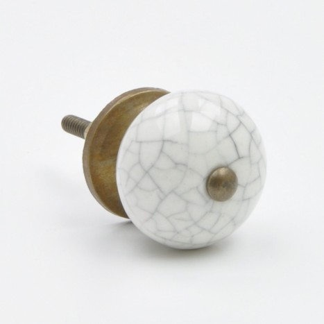 Small Cracked Ball Drawer Knob