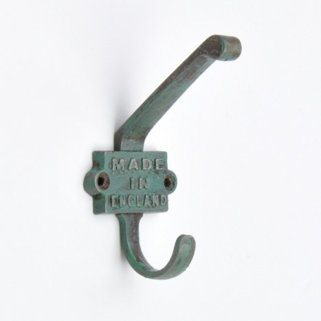 Green British Wall Hooks