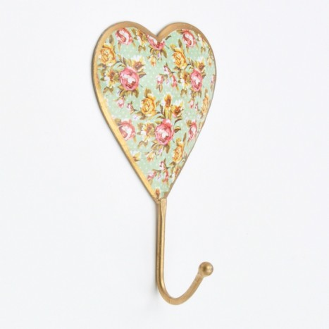Golden Love Heat Wall Hook