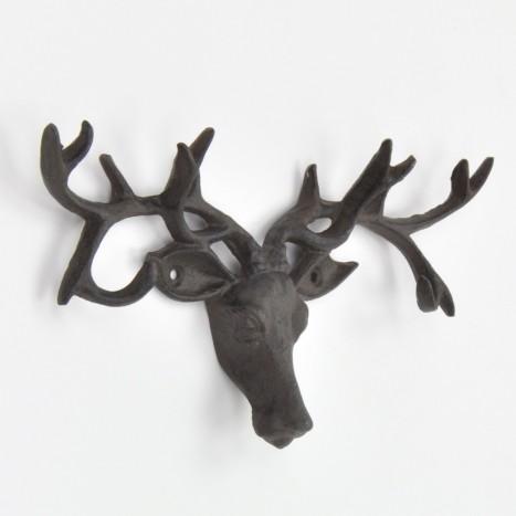 Stag Antlers Wall Hook