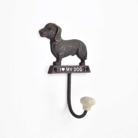 I love my Dachshund Coat Hook
