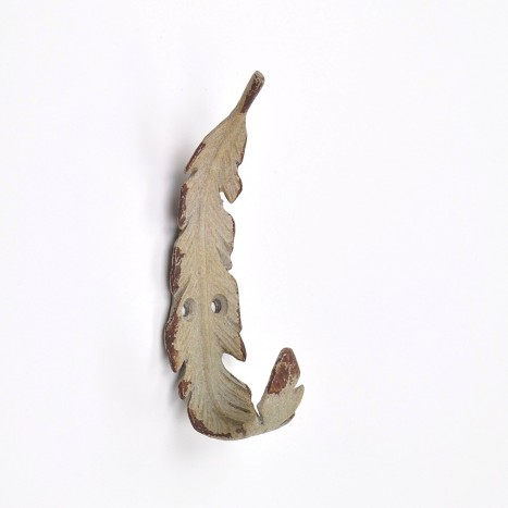 Folding Feather Coat Hook