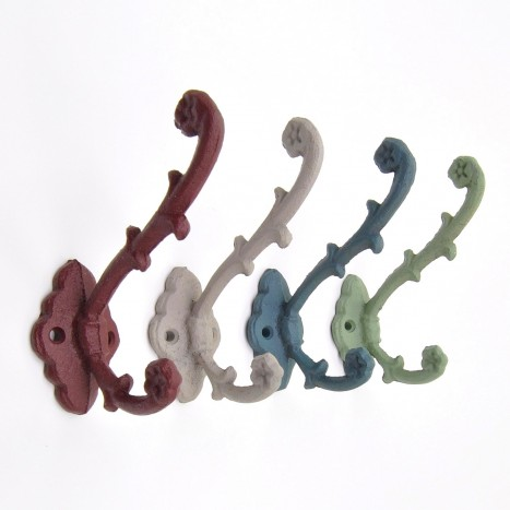 Rustic Colours Coat Hook Set