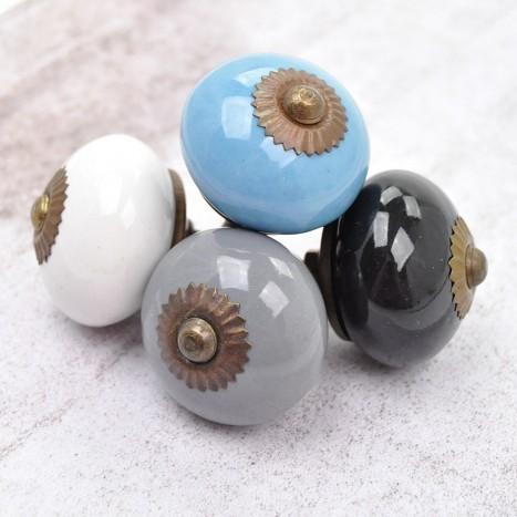 Essential Ceramics Cupboard Knob