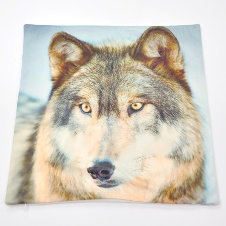 Wild Wolf Cushion Cover