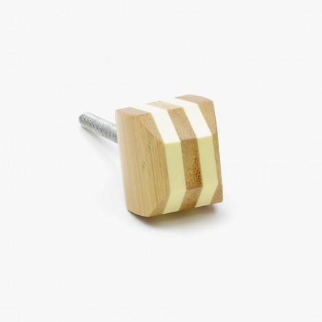 Bamboo Lines Cupboard Knob