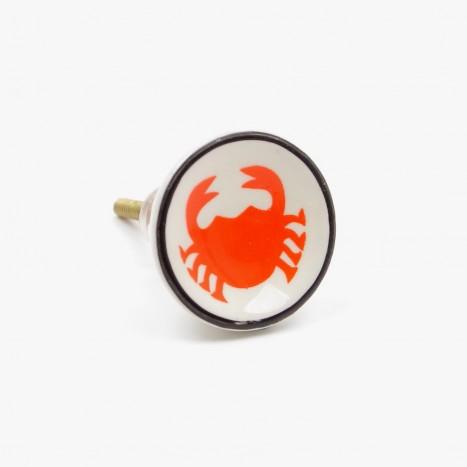 Sea Life Drawer Knob - Crab (C)