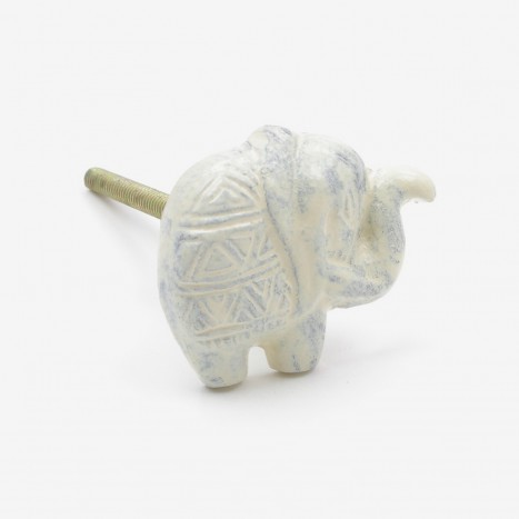 Indian Elephant Drawer Pull