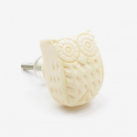 Snow Owl Drawer Pull