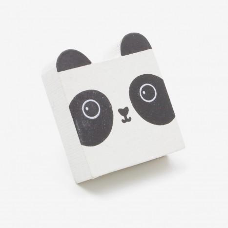 Square Head Animals Cupboard Knob - Panda