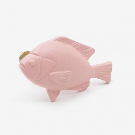 Fat Fish Cupboard Knob - Pink