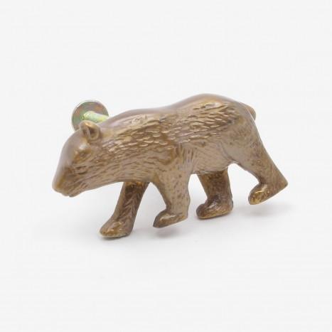 Prowling Bear Cupboard Knob