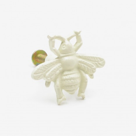 Worker Bee Cupboard Knob - Cream