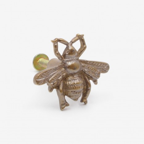 Worker Bee Cupboard Knob