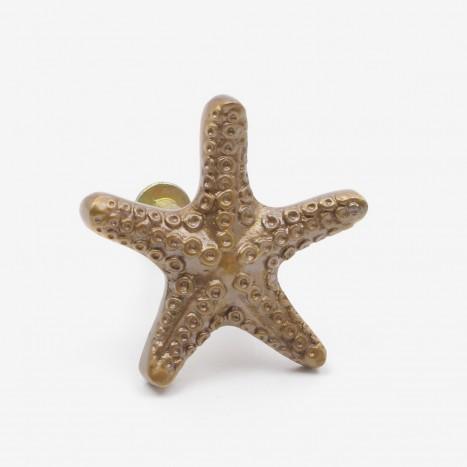 Seaside Starfish Cupboard Knob