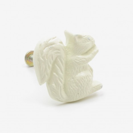 Squirrel Ore Cupboard Knob - Cream