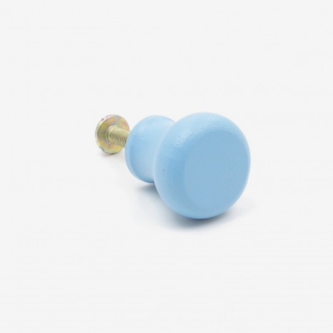 Pantry Cupboard Knob - Blue