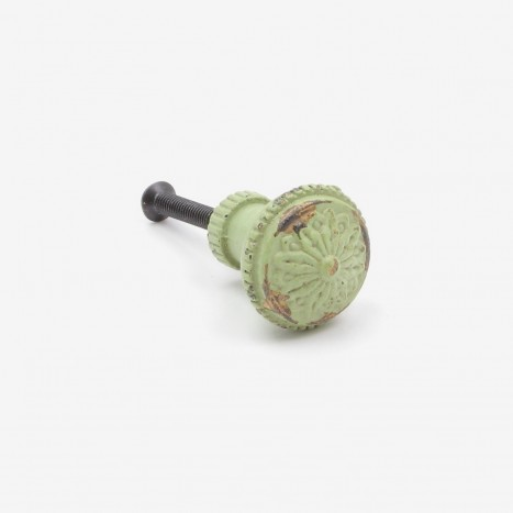 Trinket Box Cupboard Knob - Green