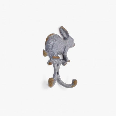 Rusty Rabbit Coat Hook