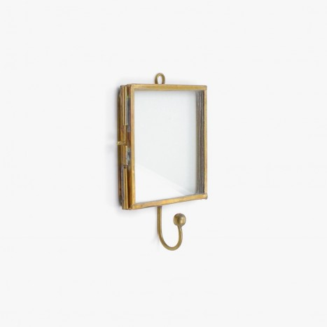 Brasswork Photo Frame Coat Hook