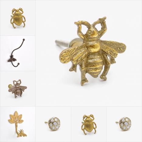 Bees Cupboard Knobs