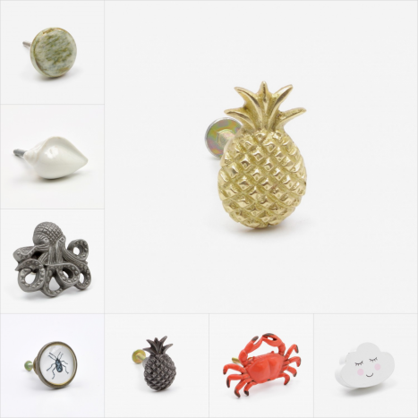 Tropical Cupboard Knobs