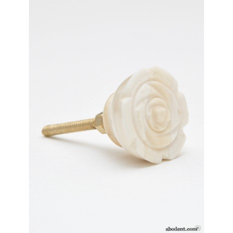 Floral Etch Wardrobe Handle