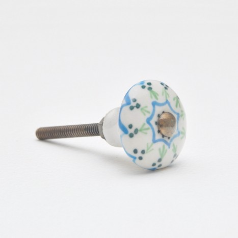 Maypole Ceramic Cupboard Knob - Small