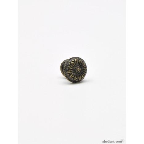 Mini Metal Gazania Flower Knob (S)