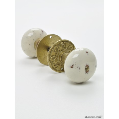Tumbled Stone Door Knob Set