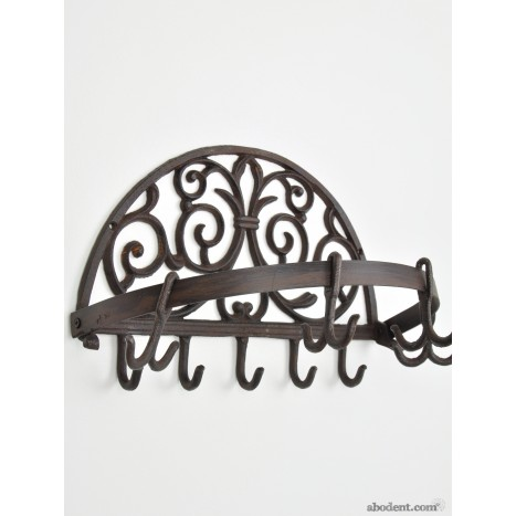 Oval Slider Coat Rack