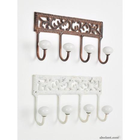 Bordered Ivy Coat Rack
