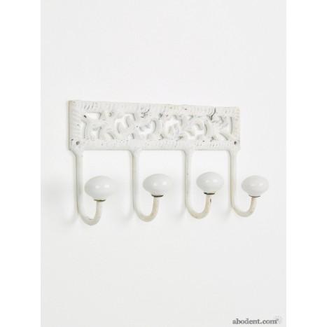 Bordered Ivy Coat Rack (OLW)