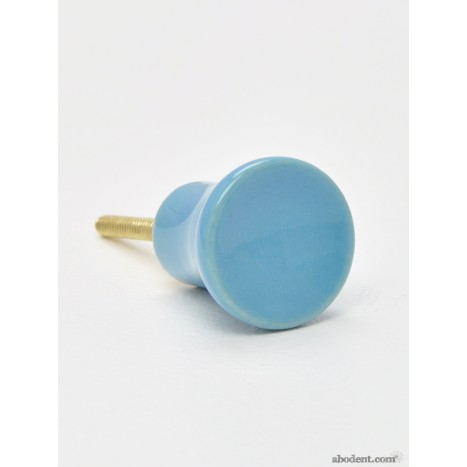 Turquoise Porcelain Knobs