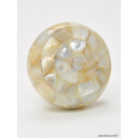 Jumbo Mother of Pearl Mosaic Knob