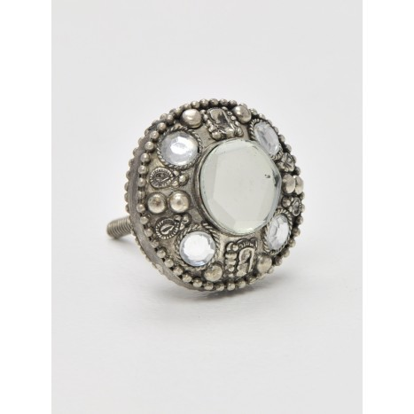 Jewelled Trinket Cupboard Knob