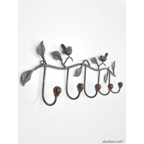 5 Hook Coat Rack